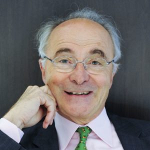 Christian Sautter, ministre, soutient François DEchy