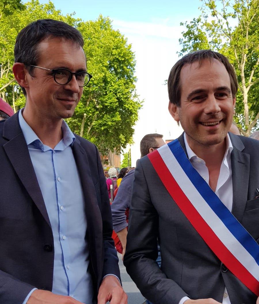 Patrice Bessac et François Dechy